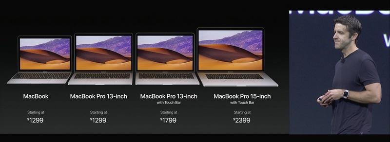Nové MacBooky 2017
