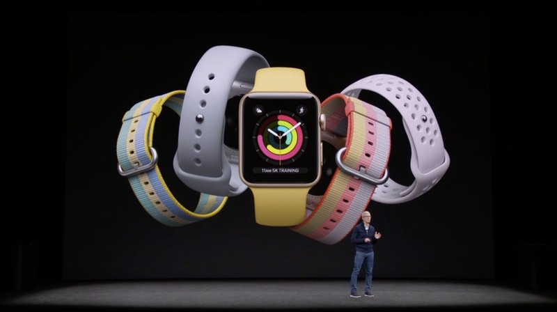 Apple představil Apple Watch Series 3
