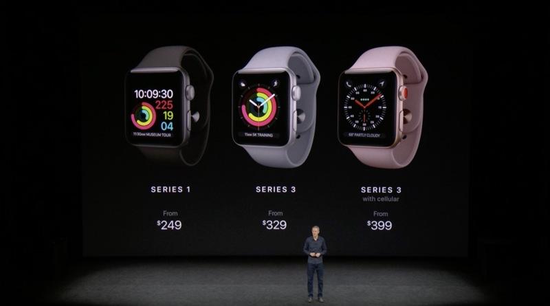 Apple představil Apple Watch Series 3