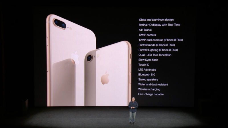 Apple představil iPhone 8 a iPhone 8 Plus