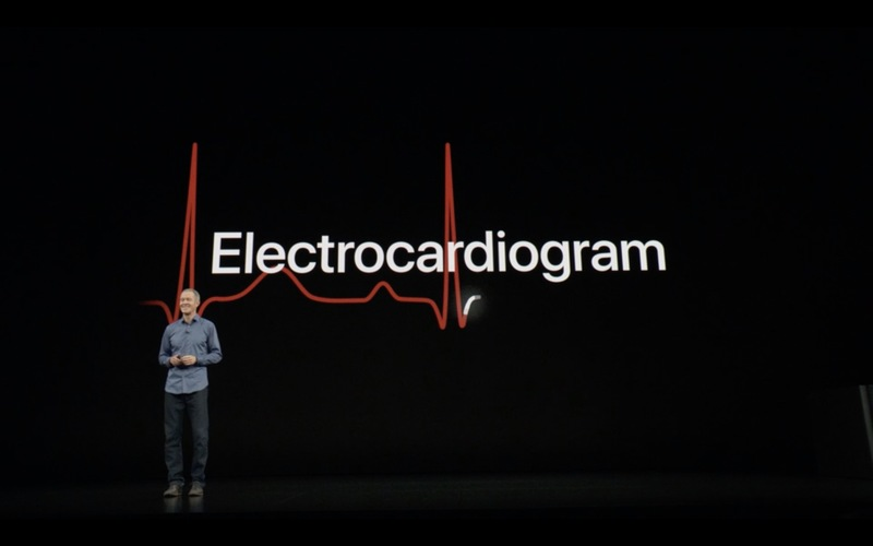 Apple představil Apple Watch Series 4 s většími displeji a EKG (Video)