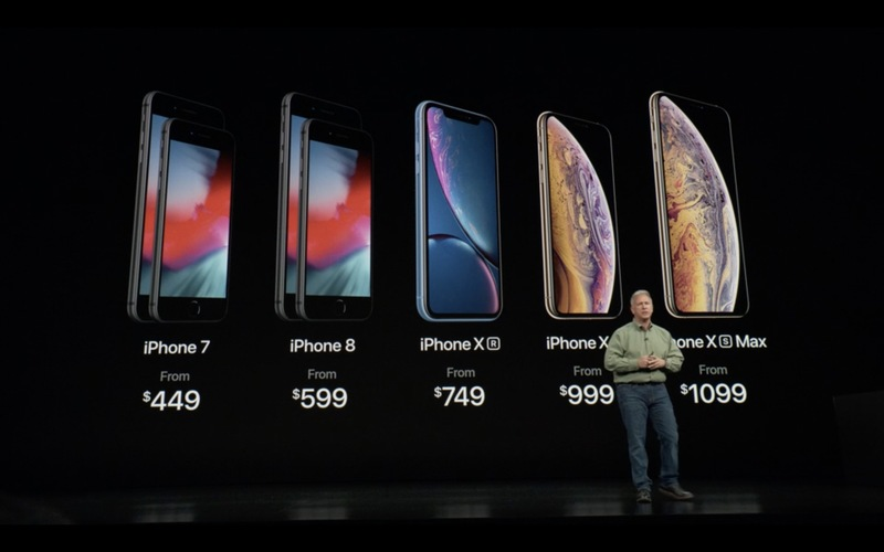 Apple představil iPhone Xs a iPhone Xs Max