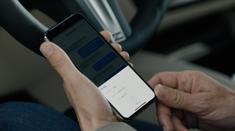 iOS 14 Car Keys